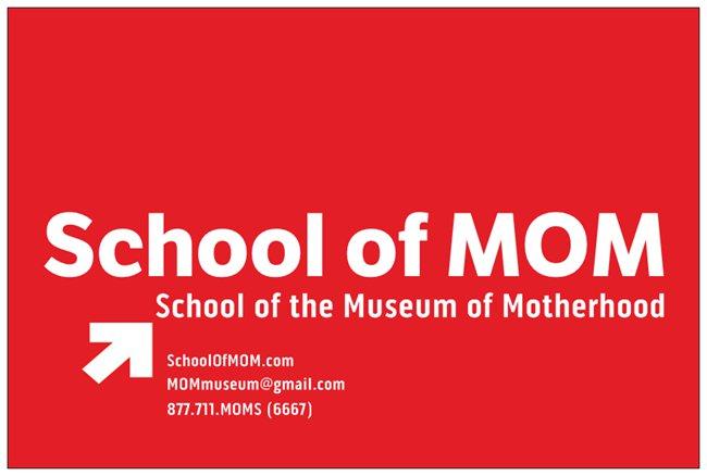 School_Of_MOM_Post_Card