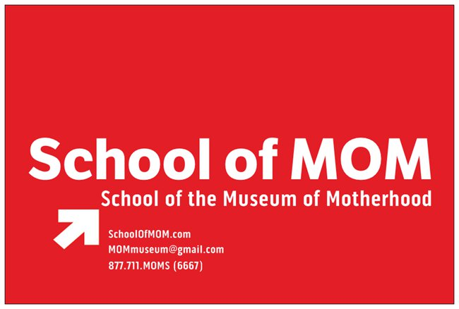 School_Of_MOM_Post_Card