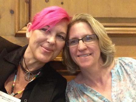Joy Rose and Lynn Kuechle 10 yrs.