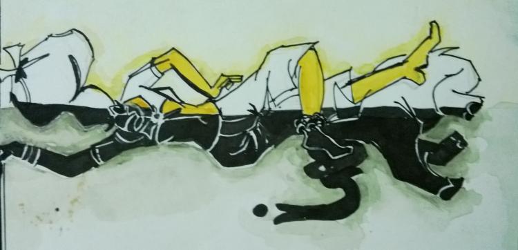 Art by Zairunisha: Summer Mother Studies student, India.